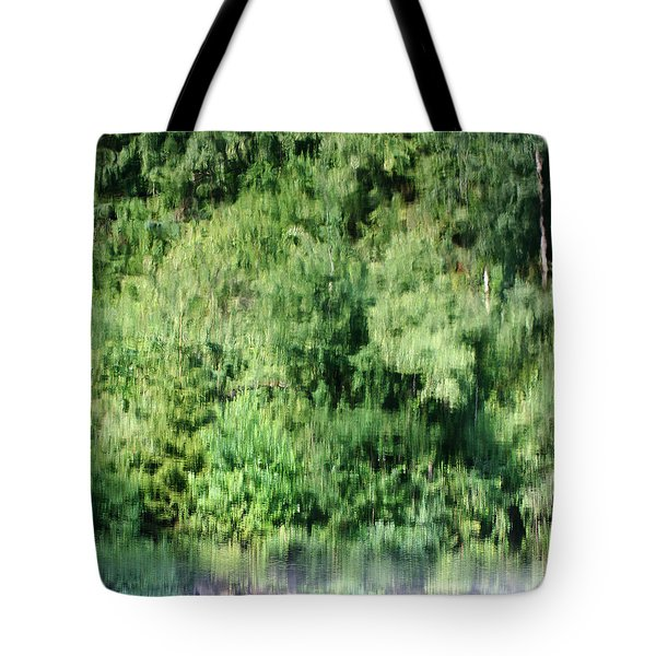 Water Forest Tote Bag by Stanislav Killer