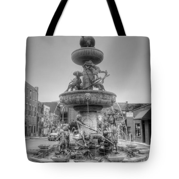 Water Fountain Tote Bag by Kathleen Struckle