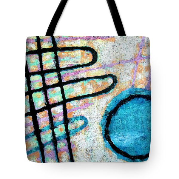 Tote Bag featuring the painting Water Frequency by Maria Huntley