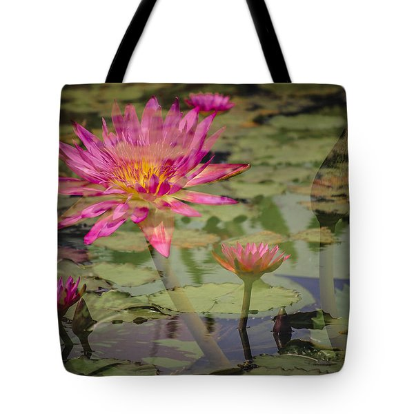 Water Garden Dream Tote Bag