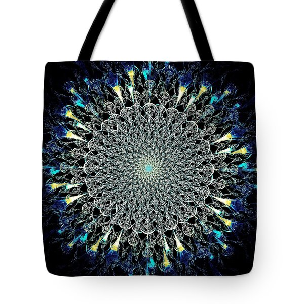 Water Glyph Tote Bag by Anastasiya Malakhova