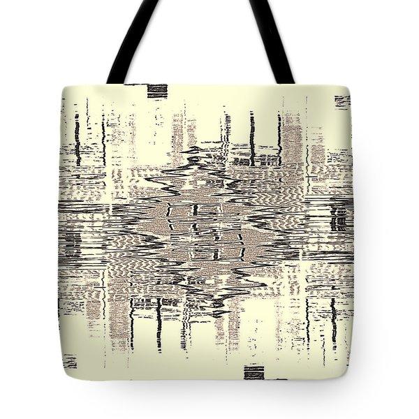 Water  Graph Tote Bag