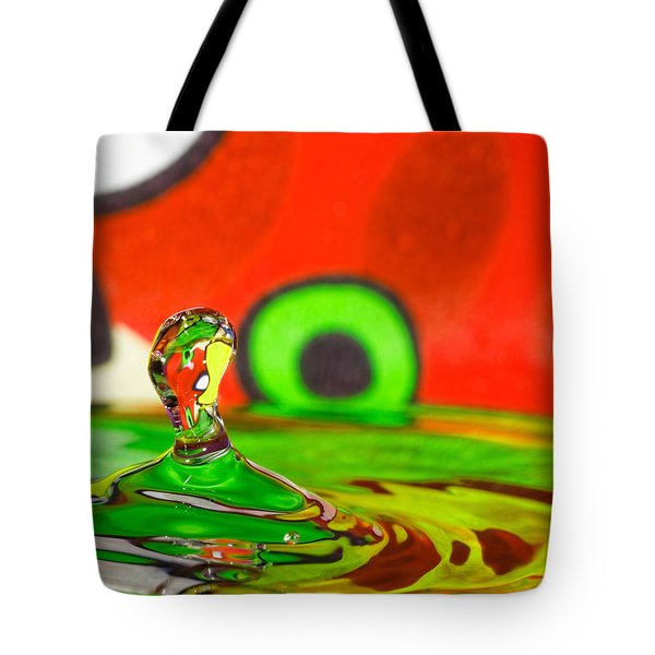 Tote Bag featuring the photograph Water Hill by Peter Lakomy