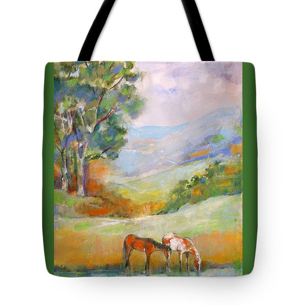 Water Hole Tote Bag by Mary Armstrong