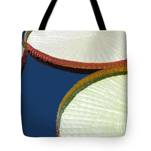 Water Lilly Platters Tote Bag by Joseph J Stevens