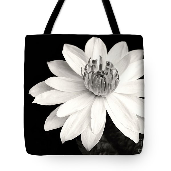 Tote Bag featuring the photograph Water Lily Ballerina by Sabrina L Ryan