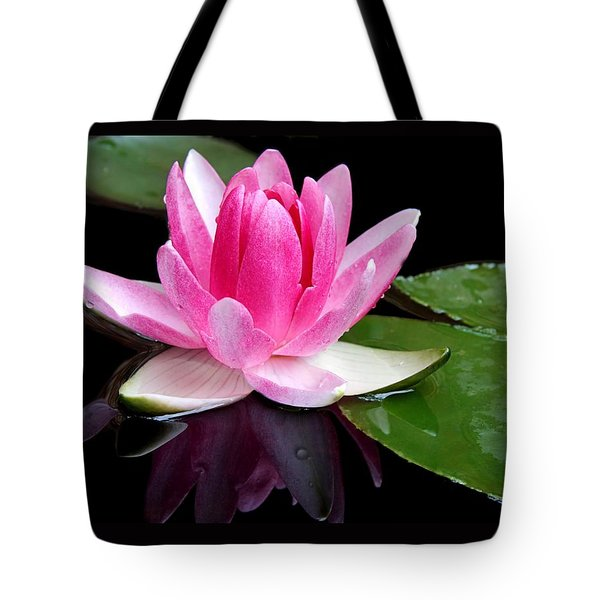 Tote Bag featuring the photograph Water Lily by Elizabeth Budd