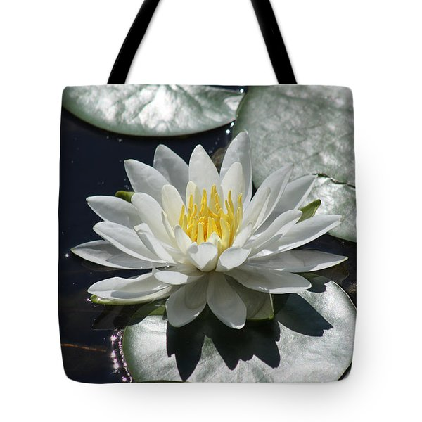 Water Lily II Tote Bag