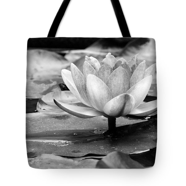 Tote Bag featuring the photograph Water Lily by Michelle Joseph-Long