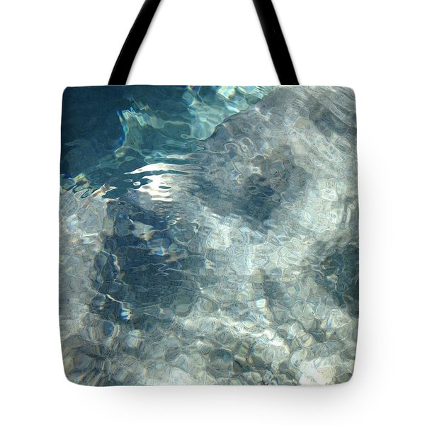 Water Tote Bag by Marian Palucci-Lonzetta