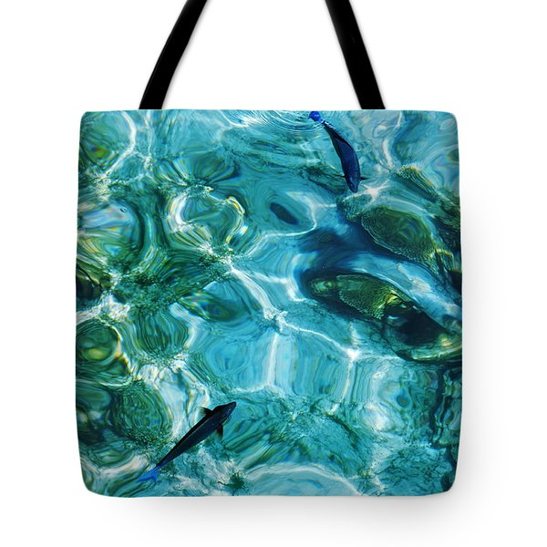 Water Meditation II. Five Elements. Healing With Feng Shui And Color Therapy In Interior Design Tote Bag