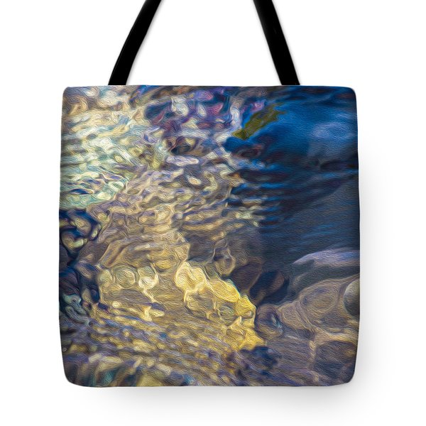 Water Monster Tote Bag by Omaste Witkowski