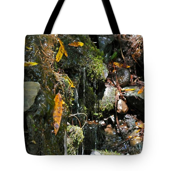 Tote Bag featuring the photograph Water Of Life by Michele Myers
