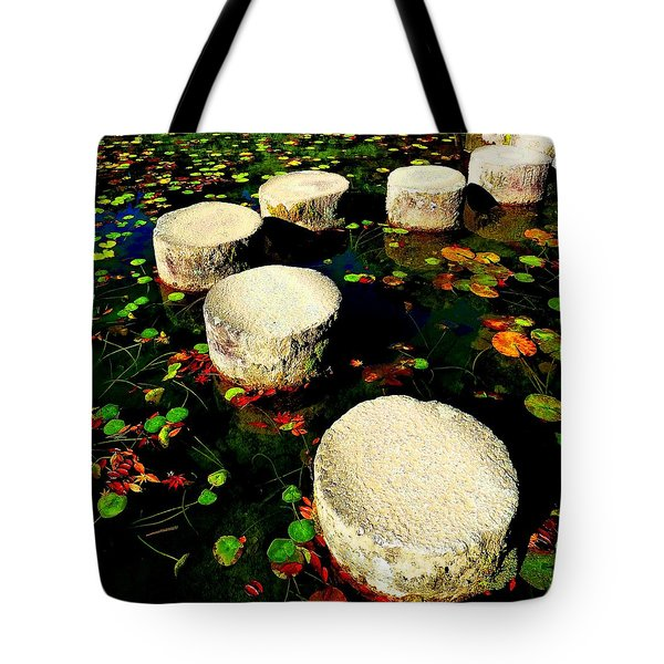 Water Path Tote Bag by Julia Ivanovna Willhite