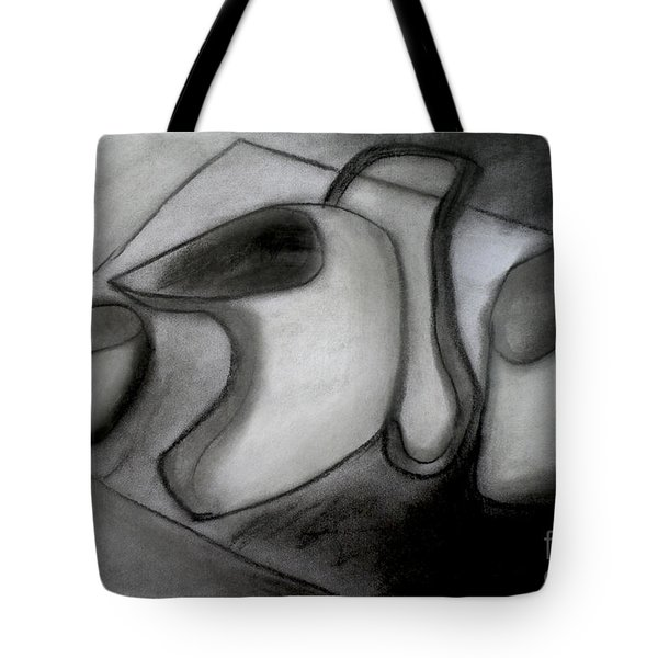 Water Pitcher And Cups Tote Bag