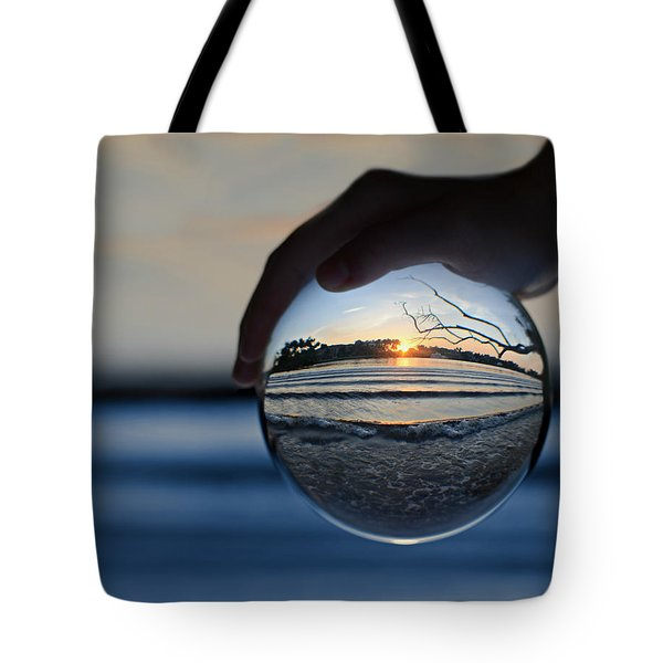 Water Planet Tote Bag by Laura Fasulo