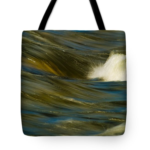 Water Play Tote Bag by Bill Gallagher