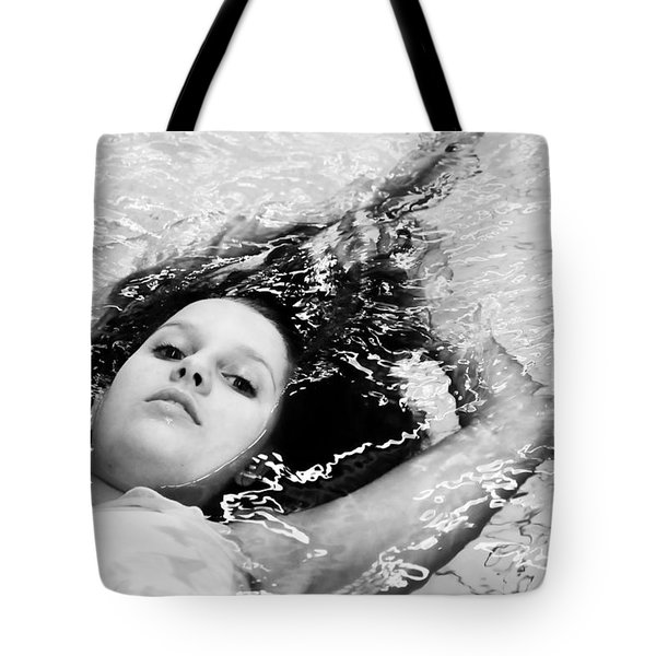Water Portrait Tote Bag