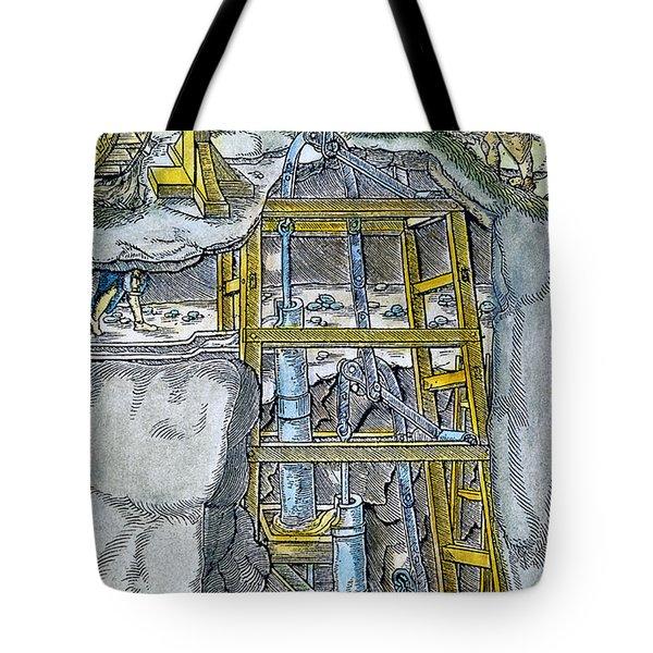 Water Pump & Wheel Tote Bag