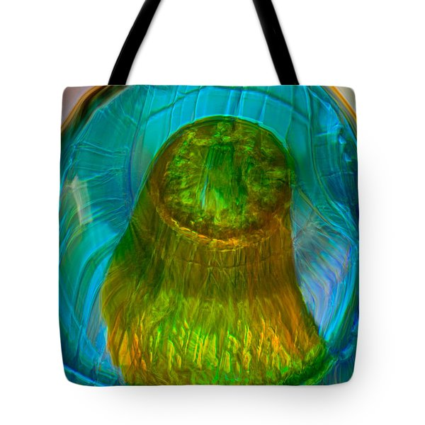 Water Realm Tote Bag by Omaste Witkowski