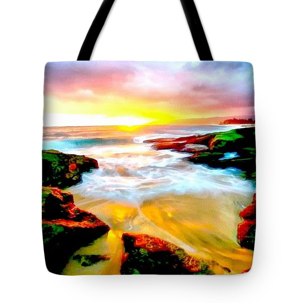 Water Runs To It Tote Bag