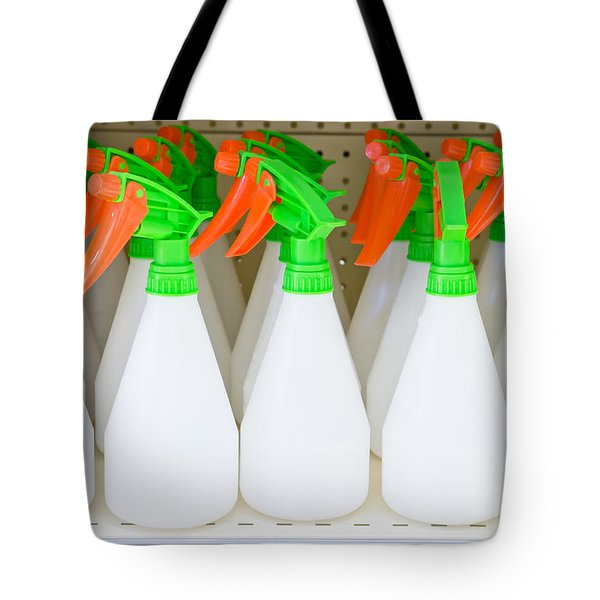 Water Sprayers Tote Bag by Tom Gowanlock