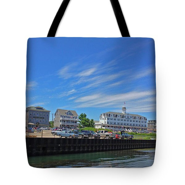 Water Street Block Island Tote Bag