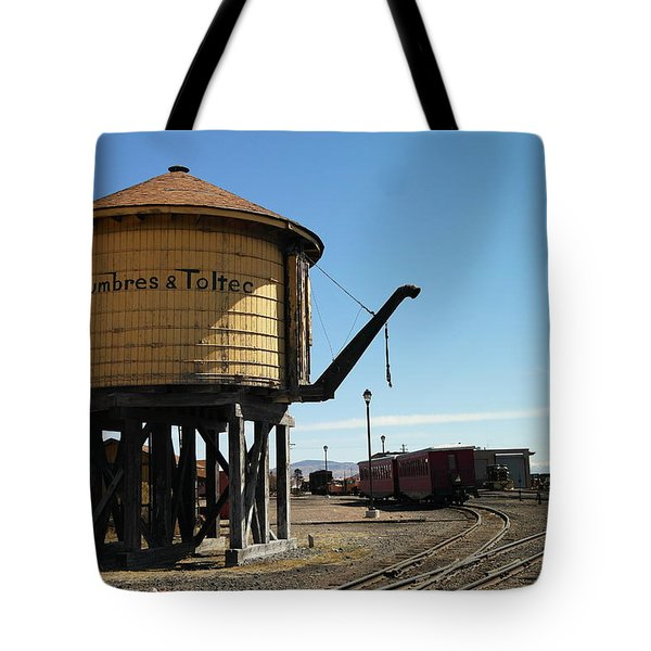 Water Tower Tote Bag by Jeff Swan