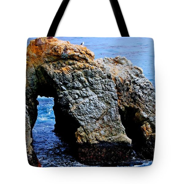 Water Tunnel Tote Bag