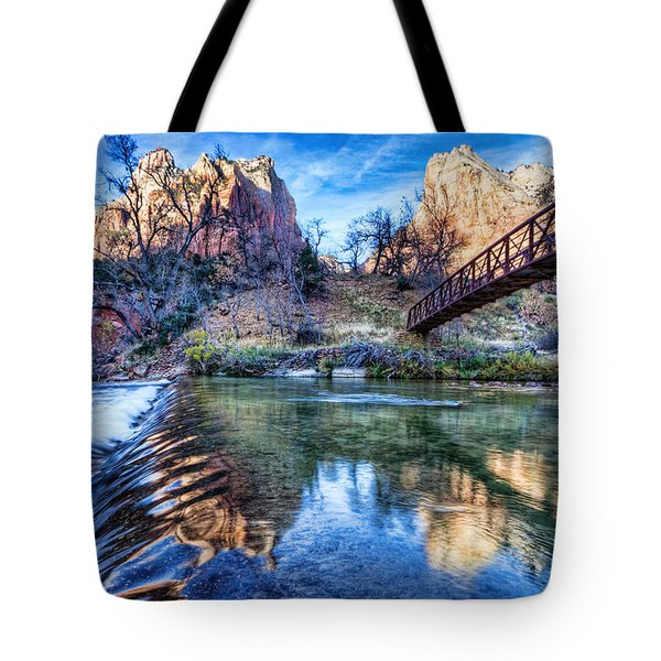 Water Under The Bridge Tote Bag