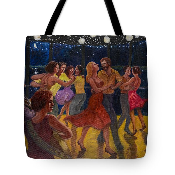 Water Waltz Tote Bag