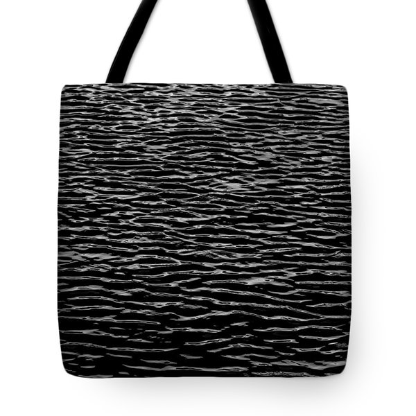 Water Wave Texture Tote Bag by Edgar Laureano