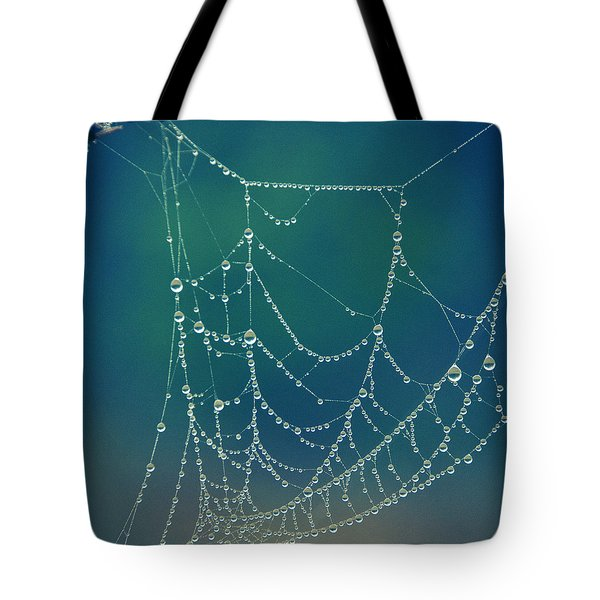 Water Web Tote Bag by Beverly Stapleton