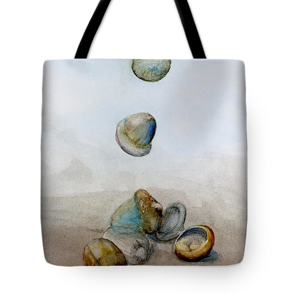 Watercolor Acorn Falls Tote Bag