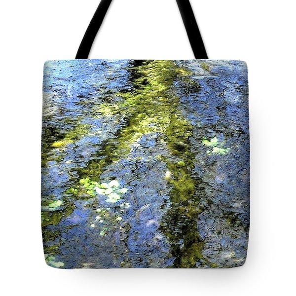 Watercolor Blues Tote Bag by Tami Quigley