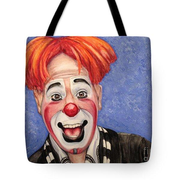 Watercolor Clown #7 Ryan Combs Tote Bag