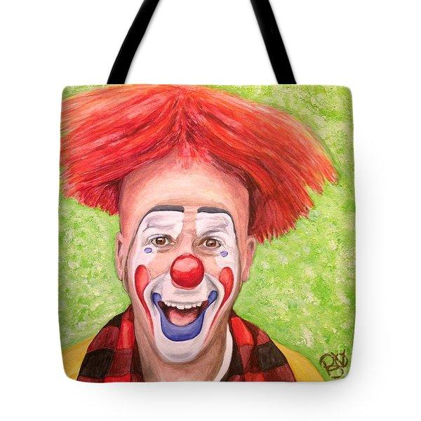 Watercolor Clown #8 Steve Copeland Tote Bag
