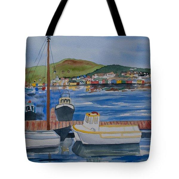 Watercolor - Dingle Ireland Tote Bag