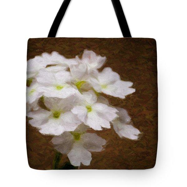Watercolor Of Daisies Tote Bag