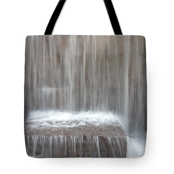 Waterfall At The Fdr Memorial In Washington Dc Tote Bag