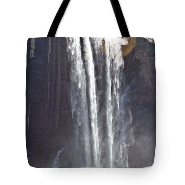 Tote Bag featuring the photograph Waterfall by Brian Williamson