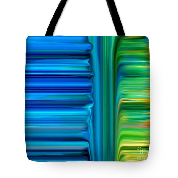 Waterfall Tote Bag by Bruce Stanfield