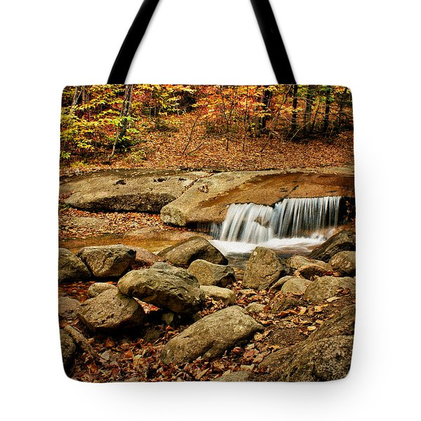 Waterfall - Flume Gorge - White Mountains Tote Bag