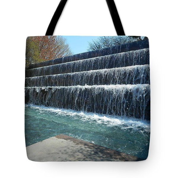 Tote Bag featuring the photograph Waterfall Heaven by Emmy Marie Vickers
