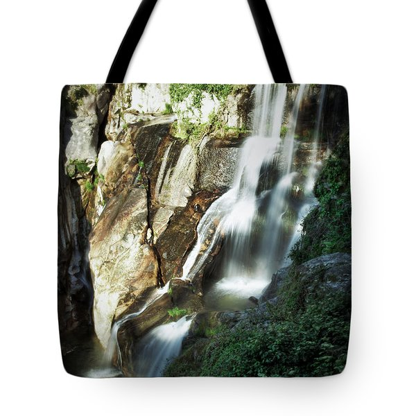 Waterfall I Tote Bag by Marco Oliveira