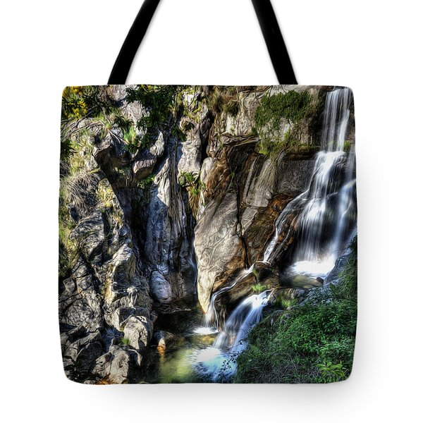 Waterfall IIi Tote Bag by Marco Oliveira