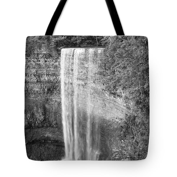 Waterfall In Cambrige Ontario Tote Bag
