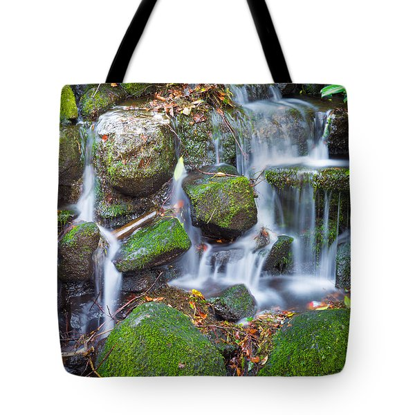 Waterfall In Marlay Park Tote Bag