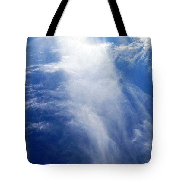 Waterfall In The Sky Tote Bag