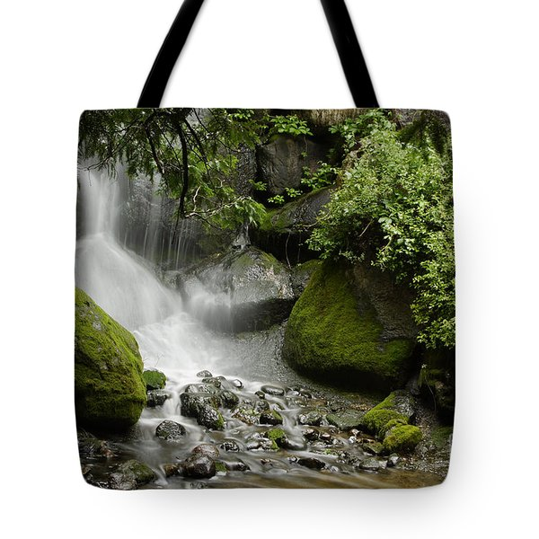 Waterfall Mist Tote Bag